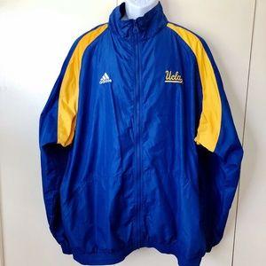 UCLA Adidas Mens Warm Up Set Jacket Full ZIp Pants